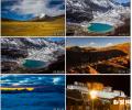 青藏高原 拉萨 西藏风景风情 晚会 视频 素材