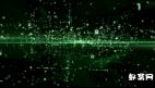 高科技网络矩阵数字代码未来展示标志AE模板