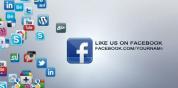 社交 网络媒体 互联网  图标集展示合集 AE 模板 免费下载