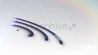 三维环标志展示logo模板 3D音波 波纹LOgo演绎