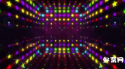 超动感舞台绚丽闪烁背景素材 晚会酒吧 lED大屏素材