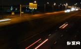 公路灯光延时摄影视频素材    公路灯光视频  城市夜景视频