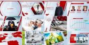 公司企业简介时尚宣传片包装工程宣传产品介绍 AE模板