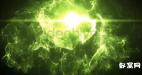 魔幻粒子追逐logo片头  文字展示(含3种颜色源文件)
