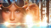 AE模板-光芒背景照片展示 唯美散射光线光效图文相册明星