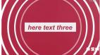 E模板-简洁动作风文字展示 文字动画产品宣传