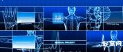 AE模板-医药人体模型展示 医疗项目 生物学解剖学图像AE工程