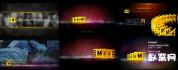 AE模板-电影频道工程电视台节目回顾 影视包装模板