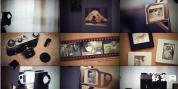 AE模板-实拍素材后期,胶片相机怀旧感动的回忆老照片相册