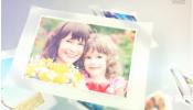AE模板-家庭阳光浪漫图集飞翔切换家庭旅行 幻灯片 儿童亲子