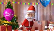 AE模板-圣诞老人 圣诞快乐 圣诞节聚会模板 圣诞礼物