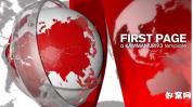 AE模板-新闻频道模板 栏目包装 国际新闻电视台环球播报片头
