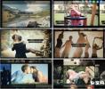 电影胶片效果婚礼生日毕业典礼模板视频回忆 AE模板