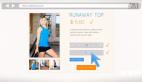在线购物网站宣传动画AE模板图标设计元素 商场网站