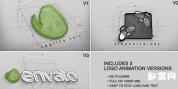 AE模板-建筑师标志公司企业集团显示视频片头LOGO演绎