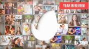 企业 年度回顾家庭聚会 企业墙 员工风采展示ae视频模板