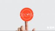 平面触摸互动Logo标志动画10组摸屏幕效果展示标志AE模板