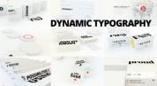 3D动态字体包 文本文字动画 AE模板 免费下载Logo模板