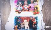 AE模板-家人回忆,相片画廊,浪漫记忆相册模板成长婚礼视频