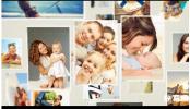结婚周年纪念 家庭生活小孩生日家庭成长AE模板美好生活记