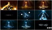 魔法圣诞树新年3D圣诞树开场开场AE模板免费下载