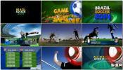 体育节目巴西世界杯电视节目宣传片 足球体育场AE模板下载