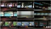 回忆老照片电影胶片式排列幻灯片AE模板免费下载
