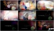 婚礼相册情侣梦幻唯美镜头眩光幻灯片AE模板免费下载 Clean Gl