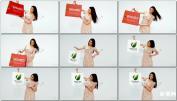 时尚购物商场产品广告购物袋包装超市AE模板