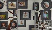 白色墙壁室内墙家庭纪念相册图片AE模板免费下 Family Tree Photo