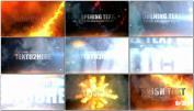 火焰爆炸燃烧地狱视频开场大气字幕AE模板免费下载 Explosion I