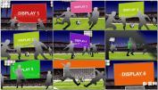 足球场广告牌广告视AE模板 世界杯 足球免费下载