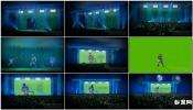 3D演出现场演唱舞台大屏幕 展示AE模板免费下载Live In Concert