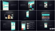 APP互联网+苹果6手机网站程序商业宣传片 IPhone 6 App Presen