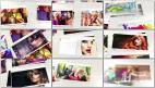时尚干净白色图片相册典雅纯净幻灯片展示AE模板免费下载