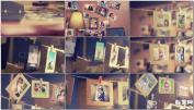 婚礼相册温馨家庭桌面墙壁悬挂温馨回忆相册AE模板免费下载
