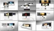 白色 相册企业公司商业网站互联网公司形象展示AE模板