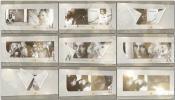 复古黑白唯美回忆成长相册AE模板爱的故事复古幻灯片 Love
