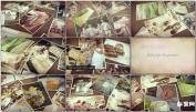 AE模板回忆旅行婚礼复古婚礼周年照片专辑电子相册视频模板