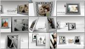AE模板欧式白色简洁老年爱情家庭视频电子相册