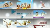 时尚图文宣传展示AE模板运动三角箭头幻灯片展示 Arrows