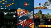 电视品牌广告视频促销包装模板体育运动节目包装字幕条AE模