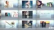 美容化妆品宣传图片相册玻璃板排列广告宣传片展示 Glossy Sho