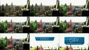 都市现代城市经济商业发展大数据图形化展示AE模板 Flipchart C