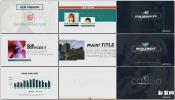 公司企业产品服务宣传片演示包装设计AE模板 Clean Corporate Pres