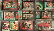剪纸圣诞节主题剪纸装饰动画家庭电子相册 Christmas Shadowbox Di