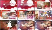 AE模板温馨浪漫新年圣诞节宣传片设计模板 卡通相册Christmas S