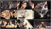 AE模板华丽时尚闪耀水晶幻灯片图片明星模特儿包装