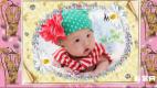 会声会影X7宝宝成长模板电子相册100天可爱儿童相册