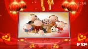 声会影X6相册模板  新年祝福模板喜庆开场祝福视频免费下载